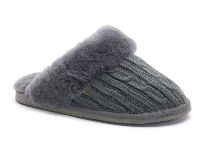 Warmbat Flurry Knitted Dark Grey